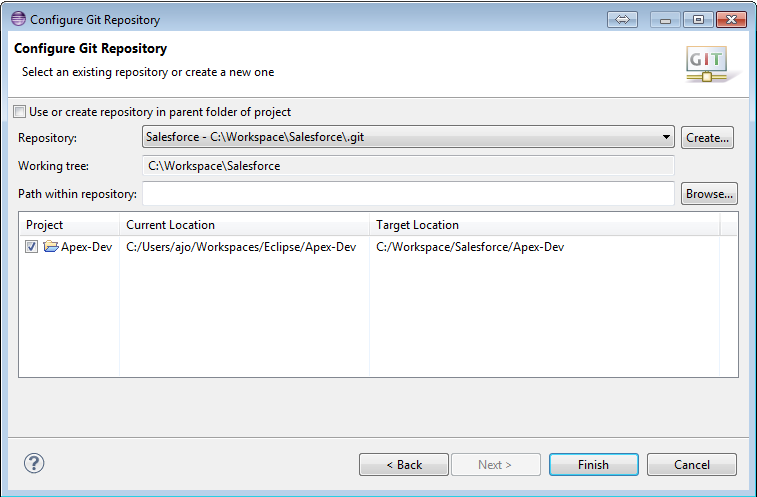 How to configure Bitbucket version control in Eclipse for
