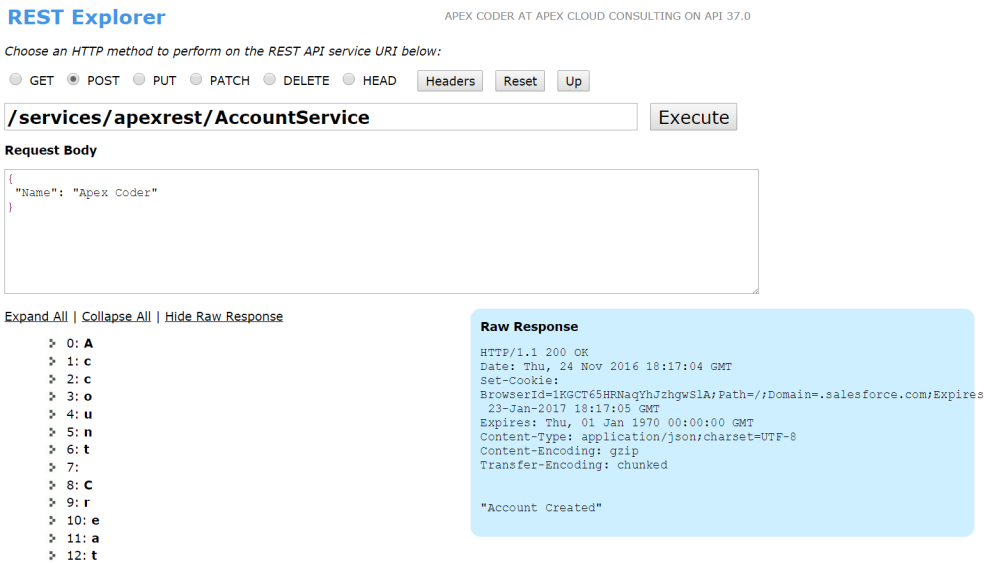 how to create and use apex rest services in salesforce ? – ajomon joseph